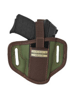 Woodland Green 6 Position Ambidextrous Pancake Holster for 380, Ultra Compact 9mm 40 45 Pistols