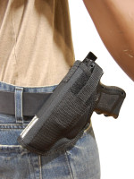 side view of holster