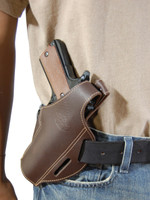 canted leather holster