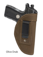 olive drab leather IWB holster