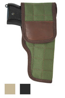 Flap Holster for Full Size 9mm .40 .45 Pistols - available in black, desert sand and woodland green
