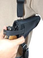 horizontal revolver holster