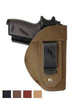 Leather Inside the Waistband Holster for Mini/Pocket 22 25 32 380 Pistols