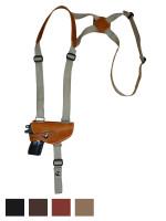 Leather Horizontal Shoulder Holster for Mini/Pocket 22 25 380 Pistols