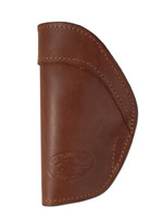 New Leather Inside the Waistband Holster + Single Magazine Pouch for 380, Ultra-Compact 9mm 40 45 Pistols (#C68/4LE)