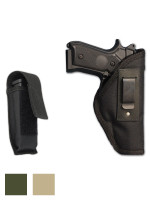 Inside the Waistband Holster + Single Magazine Pouch for Full Size 9mm .40 .45 Pistols