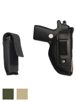 Inside the Waistband Holster + Single Magazine Pouch for 380, Ultra Compact 9mm 40 45 Pistols