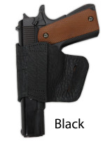 black leather yaqui holster