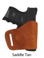 saddle tan leather yaqui holster