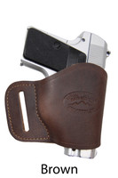 brown leather yaqui holster