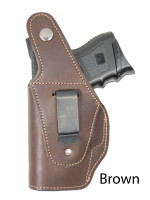 brown leather OWB holster
