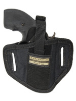 """6 Position Ambidextrous Pancake Holster for 2"""" Snub Nose Revolvers"""