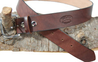 "New 1 1/2"" Heavy Duty Leather Belts for Sizes 47"" - 53"" (#L15)"