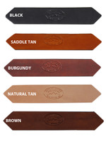"1 3/4"" Heavy Duty Leather Belts for Sizes 47"" - 53"""