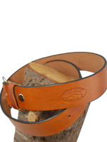 saddle tan leather belt