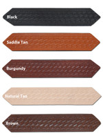 """1 3/4"""" Basket-weave Leather Belts for Sizes 47"""" - 53"""""""