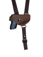 brown leather holster
