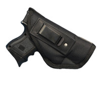Inside the Waistband Holster for Compact Sub-Compact 9mm .40 .45 Pistols with LASER
