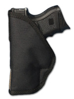 New Inside the Waistband Holster + Single Magazine Pouch for Compact Sub-Compact 9mm .40 .45 Pistols with LASER (#C67-22L)