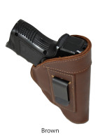 brown leather IWB holster