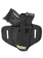 Ambidextrous Pancake Holster for Compact Sub-Compact 9mm 40 45 Pistols with LASER