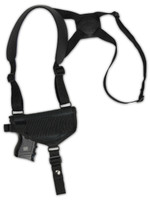 Horizontal Shoulder Holster for Compact Sub-Compact 9mm 40 45 Pistols with LASER