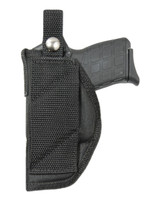 Cross Draw Holster for .380, Ultra Compact 9mm 40 45 Pistols with LASER
