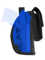 Belt Holster w/ Magazine Pouch for .380 Ultra Compact 9mm .40 .45 Pistols with LASER