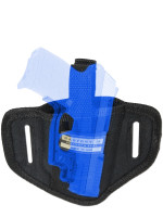 Ambidextrous Pancake Holster for .380 Ultra Compact 9mm .40 .45 Pistols with LASER