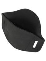 black leather holster