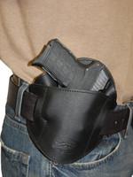 leather pancake belt holster