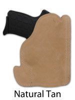 natural tan leather pocket holster