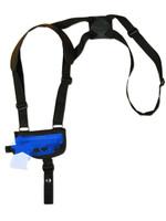 shoulder holster for pistols with lasers