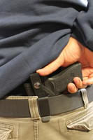 Belt clip right hand small of the back option