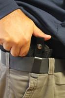 Belt clip right hand IWB holster
