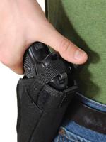 Thumb-break right hand OWB holster