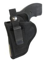 Belt clip right hand OWB holster or left hand IWB holster