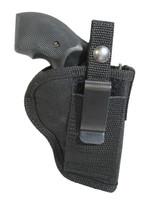 Belt clip left hand OWB holster or right hand IWB holster