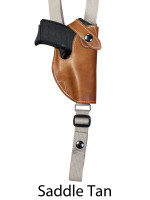 saddle tan leather shoulder holster
