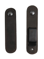 Interchangeable from belt clip to loop use
