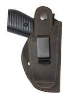 Left hand belt clip holster