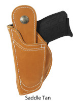 saddle tan leather 360Carry ambidextrous holster