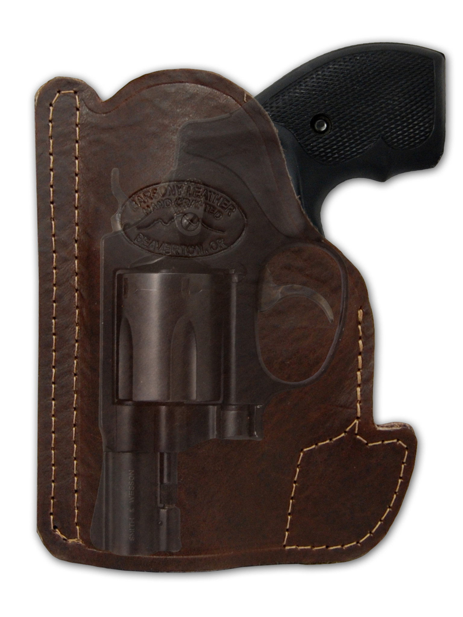 New Barsony Brown Leather Yaqui Holster Mag Pouch Smith /& Wesson M/&P Comp 9mm