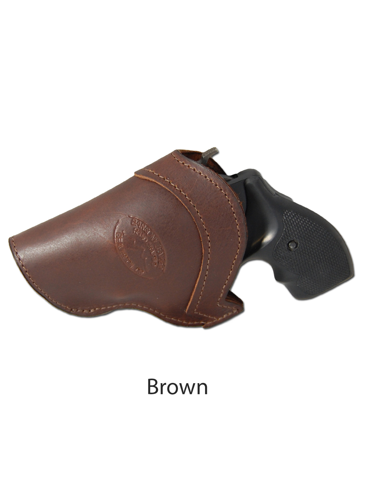 Black Leather Inside the Waistband Holster for 2
