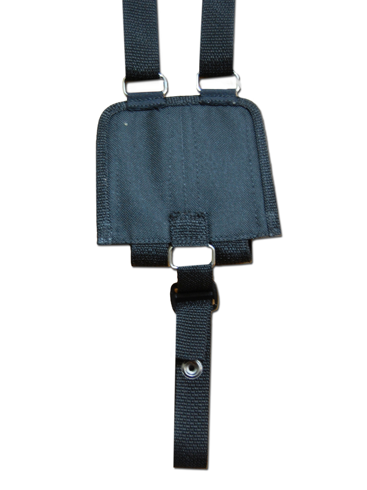 Ambidextrous Horizontal Shoulder Holster with Magazine Pouch