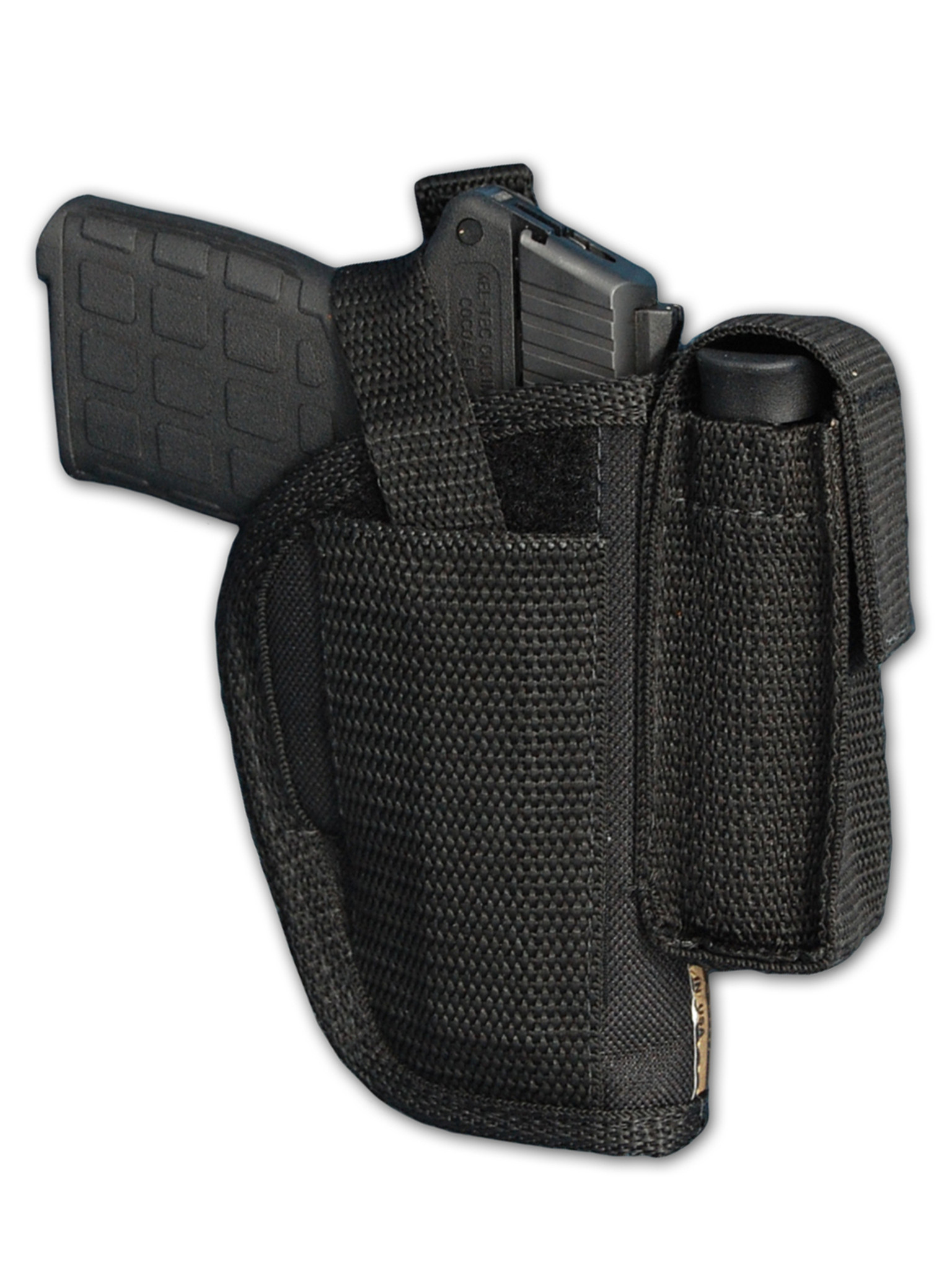 OWB Holster with Magazine Pouch for  380, Ultra-Compact 9mm 40 45