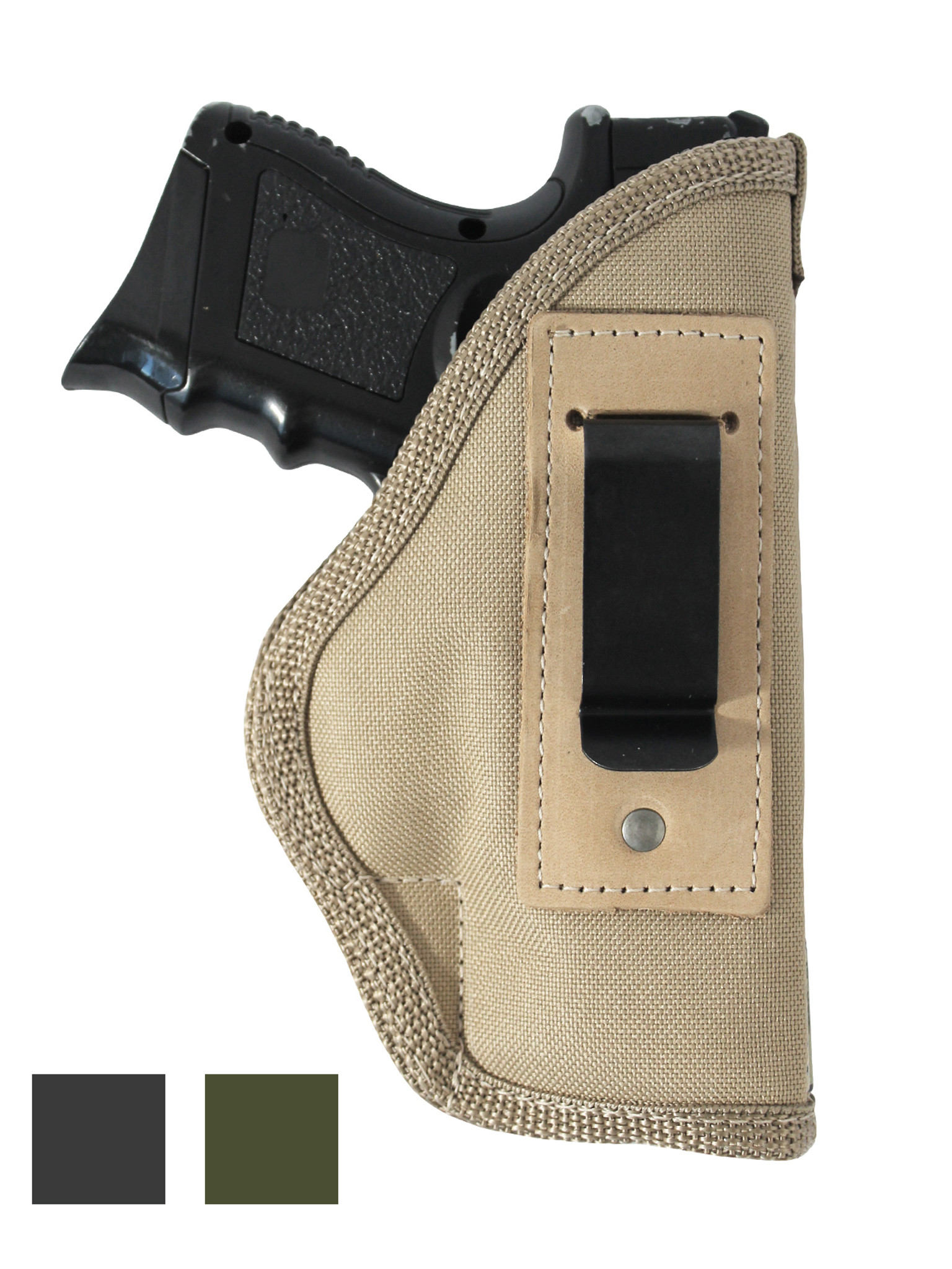 Inside the Waistband Holster for Compact 9mm  40  45 Pistols