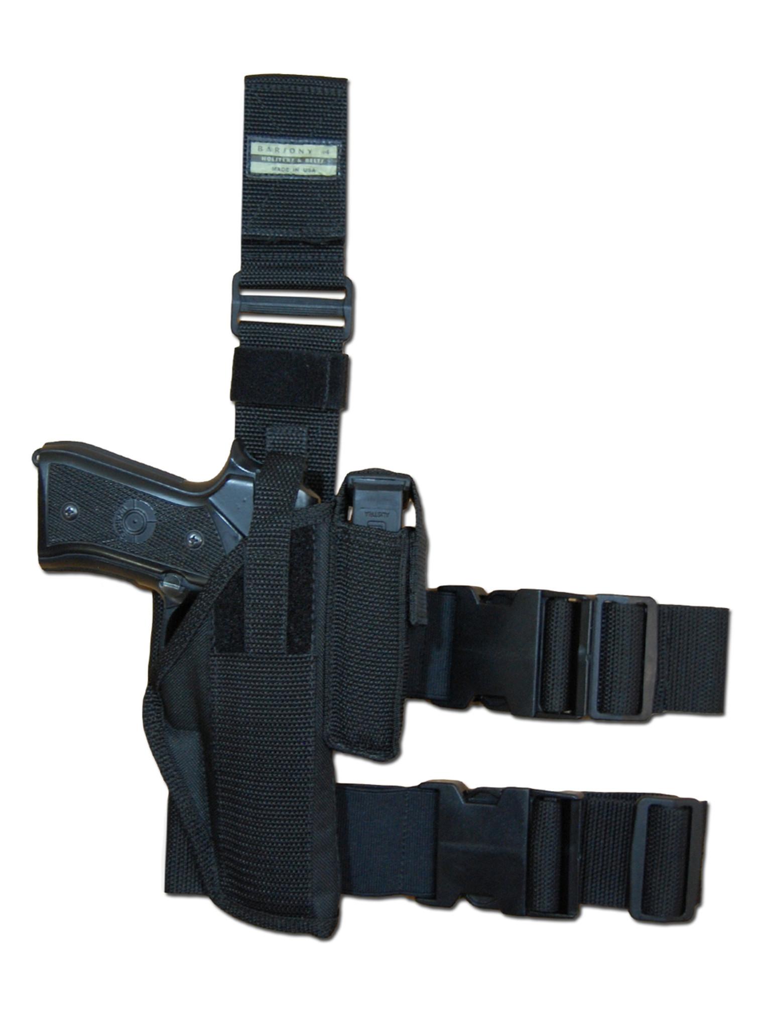 Tactical Leg Holster for Full Size 9mm 40 45 Pistols