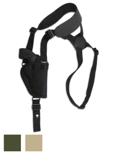 "Vertical Shoulder Holster for 2"" Snub Nose .38 .357 Revolvers"