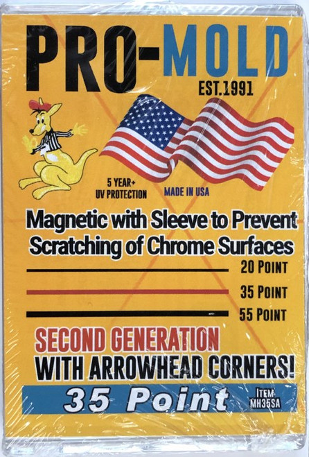 Pro-Mold Magnetic with Sleeve 2ND GEN 35pt Sleeved Size Card Holder
